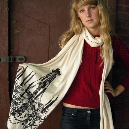 Chandalier scarf