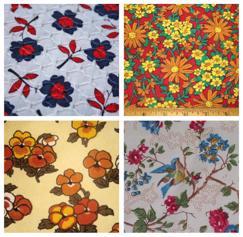 Nft vintage fabric collage