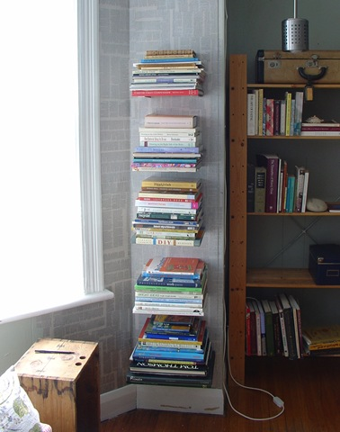 Invisible shelves