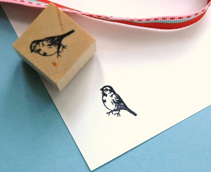 Finch stamp